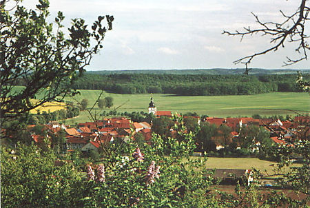 Blick auf Gompertshausen