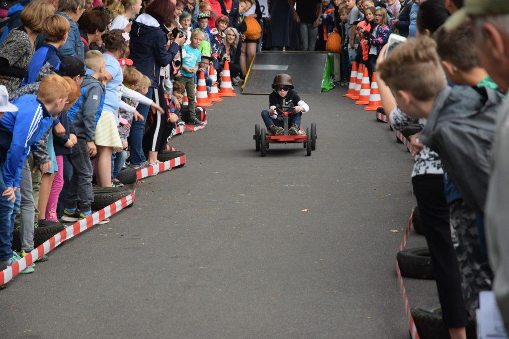 Seifenkistenrennen in Gompertshausen