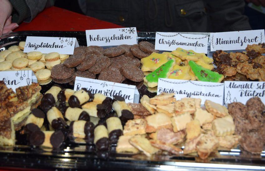Plätzchenwette am Advents-Weihnachtsmarkt