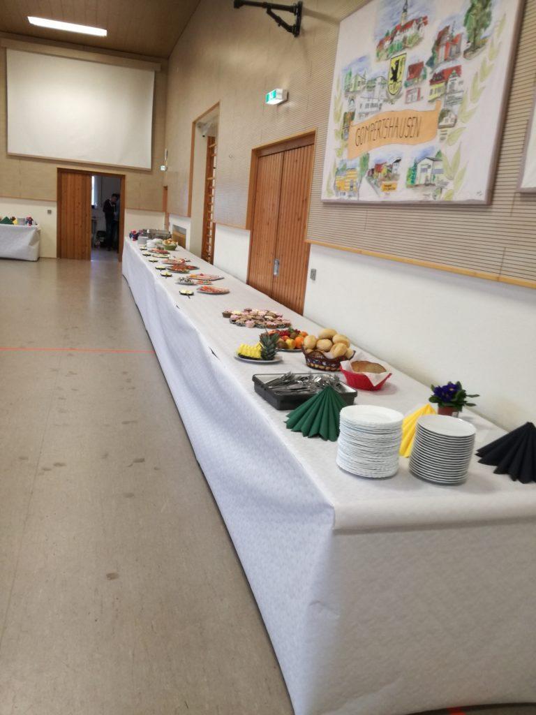 Frühstück für ein ganzes Dorf 2020