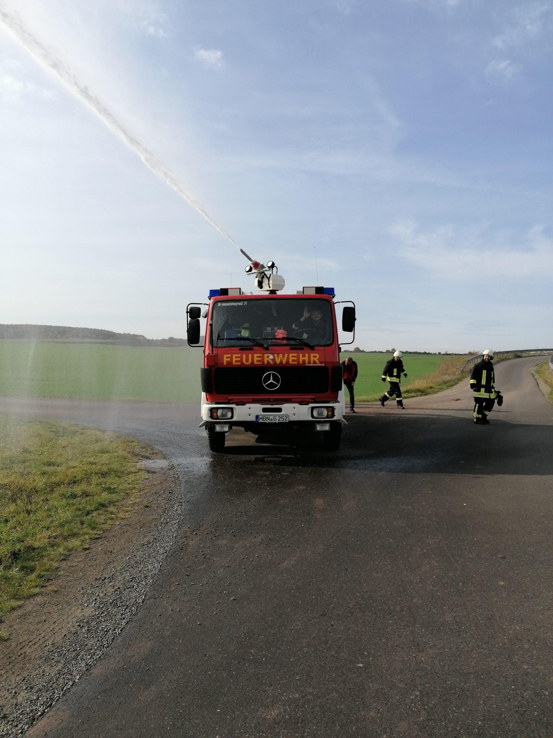 Probefahrt in Gompertshausen
