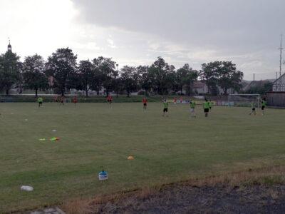 Endlich wieder Training in Gompertshausen